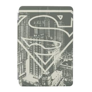 Superman Stylized | Green Metropolis Logo iPad Mini Cover