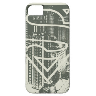 Superman Stylized | Green Metropolis Logo iPhone 5 Cases
