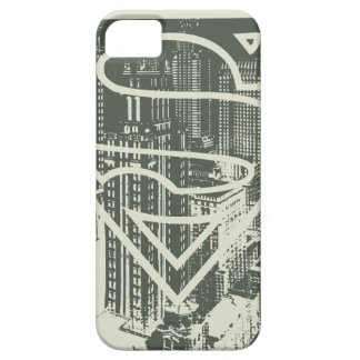 Superman Stylized | Green Metropolis Logo iPhone 5 Covers