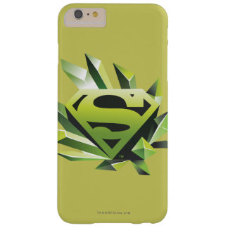 Superman Stylized | Green Shield Logo Barely There iPhone 6 Plus Case