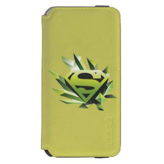 Superman Stylized | Green Shield Logo Incipio Watson™ iPhone 6 Wallet Case