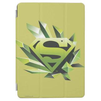 Superman Stylized | Green Shield Logo iPad Air Cover