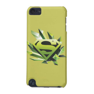 Superman Stylized | Green Shield Logo iPod Touch (5th Generation) Covers