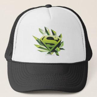 Superman Stylized | Green Shield Logo Trucker Hat