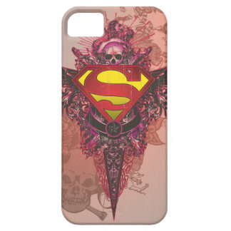 Superman Stylized | Grunge Design Logo Barely There iPhone 5 Case