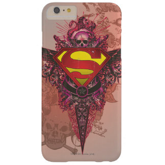 Superman Stylized | Grunge Design Logo Barely There iPhone 6 Plus Case