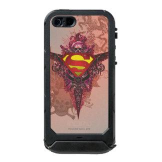Superman Stylized | Grunge Design Logo Incipio ATLAS ID™ iPhone 5 Case