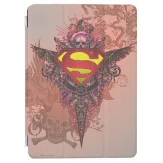Superman Stylized | Grunge Design Logo iPad Air Cover
