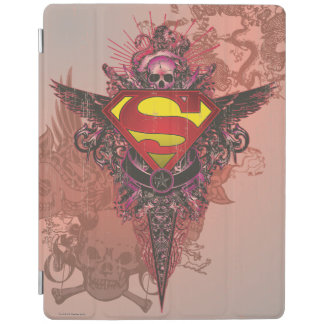 Superman Stylized | Grunge Design Logo iPad Cover