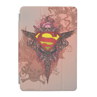Superman Stylized | Grunge Design Logo iPad Mini Cover