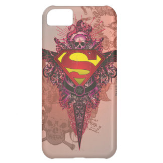 Superman Stylized | Grunge Design Logo iPhone 5C Case