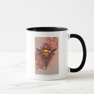 Superman Stylized | Grunge Design Logo Mug
