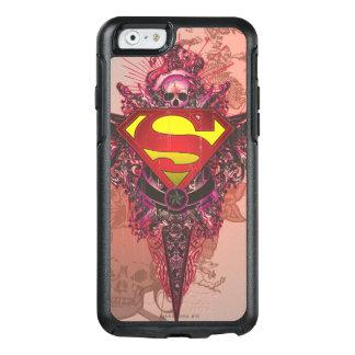 Superman Stylized | Grunge Design Logo OtterBox iPhone 6/6s Case