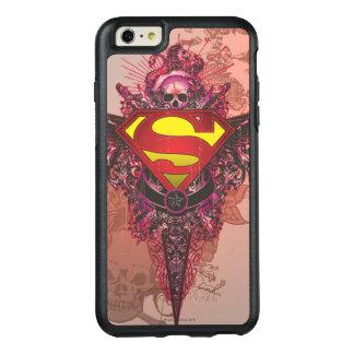 Superman Stylized | Grunge Design Logo OtterBox iPhone 6/6s Plus Case