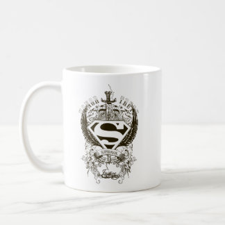Superman Stylized | Honor, Truth and Justice Logo Coffee Mug