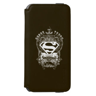 Superman Stylized | Honor, Truth and Justice Logo Incipio Watson™ iPhone 6 Wallet Case