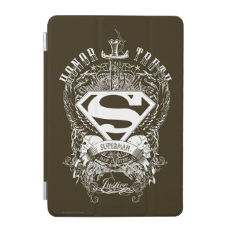 Superman Stylized | Honor, Truth and Justice Logo iPad Mini Cover