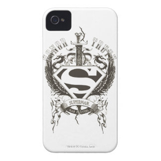Superman Stylized | Honor, Truth and Justice Logo iPhone 4 Case