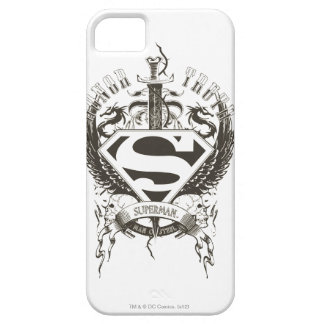 Superman Stylized | Honor, Truth and Justice Logo iPhone 5 Case