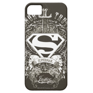 Superman Stylized | Honor, Truth and Justice Logo iPhone 5 Cases