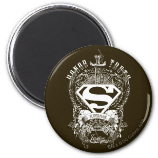 Superman Stylized | Honor, Truth and Justice Logo Magnet