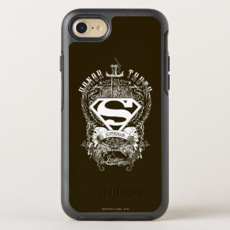 Superman Stylized | Honor, Truth and Justice Logo OtterBox Symmetry iPhone 8/7 Case
