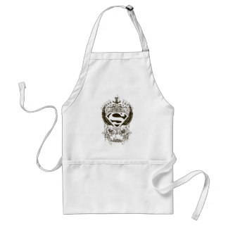 Superman Stylized | Honor, Truth and Justice Logo Standard Apron
