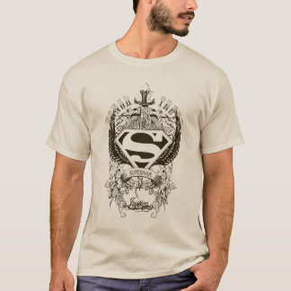 Superman Stylized | Honor, Truth and Justice Logo T-Shirt