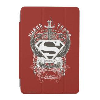 Superman Stylized | Honor, Truth on White Logo iPad Mini Cover