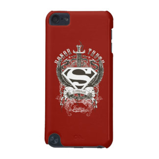 Superman Stylized | Honor, Truth on White Logo iPod Touch (5th Generation) Cases