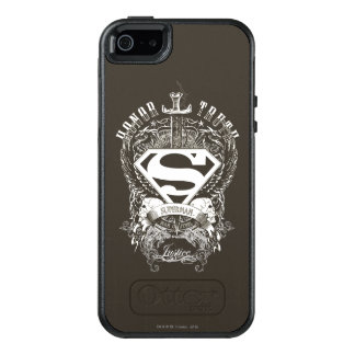 Superman Stylized | Honor, Truth on White Logo OtterBox iPhone 5/5s/SE Case