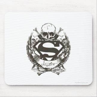Superman Stylized | Justice Logo Mouse Pad