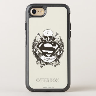 Superman Stylized | Justice Logo OtterBox Symmetry iPhone 8/7 Case