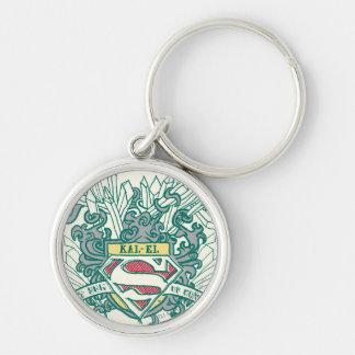 Superman Stylized | Kal-El Logo Key Ring