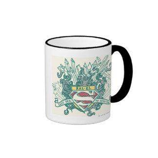 Superman Stylized | Kal-El Logo Ringer Mug