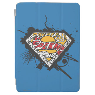 Superman Stylized | Logo with letters Logo iPad Air Cover