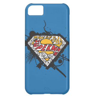 Superman Stylized | Logo with letters Logo iPhone 5C Case