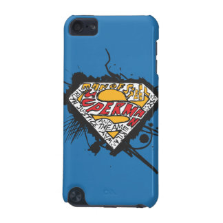 Superman Stylized | Logo with letters Logo iPod Touch 5G Covers