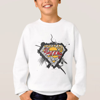 Superman Stylized | Logo with letters Logo Sweatshirt