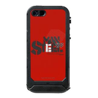 Superman Stylized | Man Of Steel Letters Logo Incipio ATLAS ID™ iPhone 5 Case