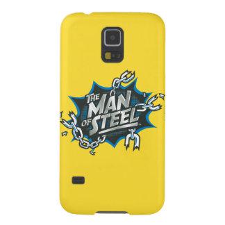Superman Stylized | Man of Steel Splash Logo Galaxy S5 Cases