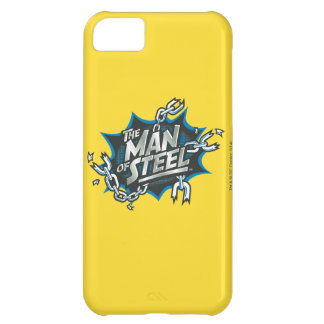 Superman Stylized | Man of Steel Splash Logo iPhone 5C Case