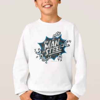 Superman Stylized | Man of Steel Splash Logo Sweatshirt