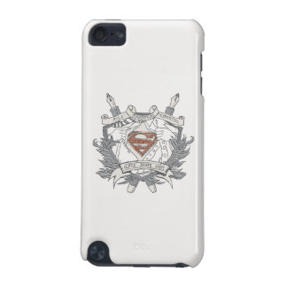 Superman Stylized   Mild Mannered Reporter Logo iPod Touch 5G Case