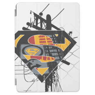 Superman Stylized | Powerlines Logo iPad Air Cover