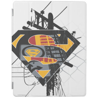 Superman Stylized | Powerlines Logo iPad Cover