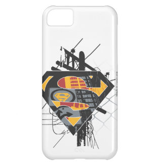 Superman Stylized | Powerlines Logo iPhone 5C Case