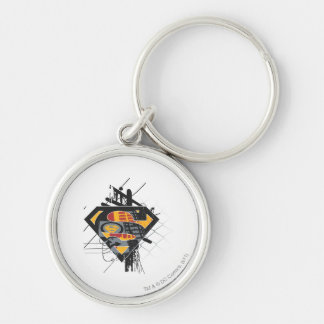 Superman Stylized | Powerlines Logo Key Ring