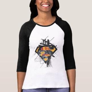 Superman Stylized | Powerlines Logo T-Shirt