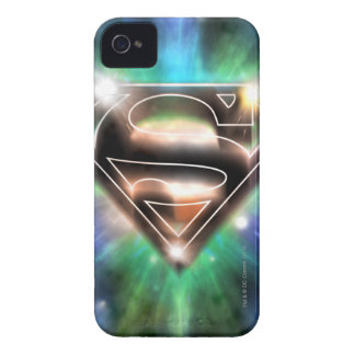 Superman Stylized | Shiny Burst Logo Case-Mate iPhone 4 Cases